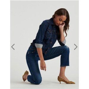 🆕 Lucky Brand Authentic Straight Crop Jeans